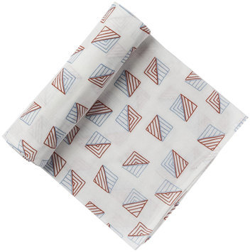 Pehr Designs Triangle Swaddle Blue/Red - 1 ct.