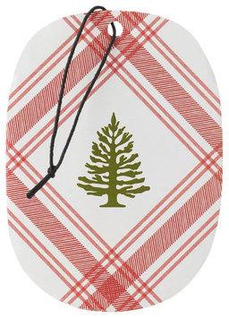 Thymes Frasier Fir Decorative Sachet - Holiday Siberian Fir Cedarwood Fragrance