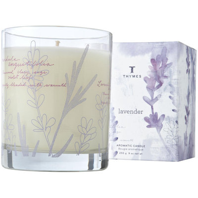 Thymes Poured Candle, Lavender