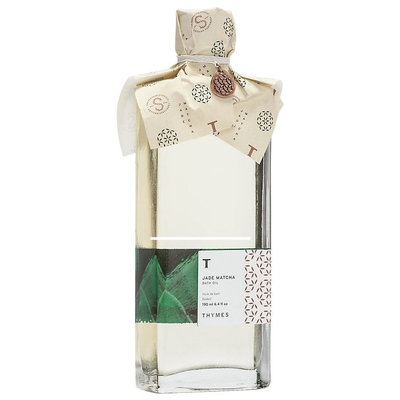 Thymes Jade Matcha Bath Oil