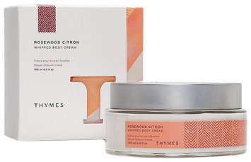 Thymes Rosewood Citron Whipped Body Cream