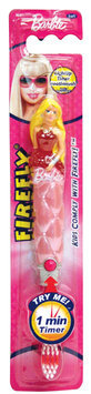 Firefly Barbie Flashing Sculpted Toothbrush - 42mm - 1 ct.