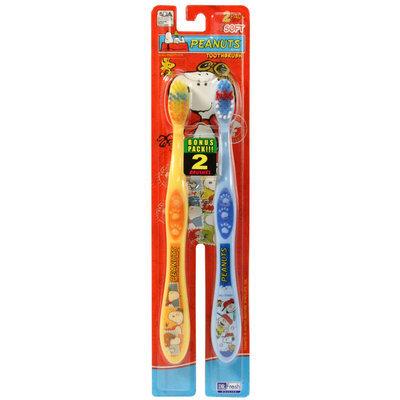 Dr. Fresh Peanuts 2 Pk Toothbrush
