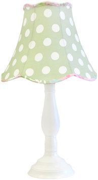 My Baby Sam Inc My Baby Sam Pixie Baby Lamp in Green