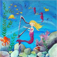 Cici Art Factory Wall Art- Mermaid Blonde