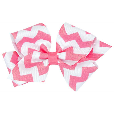Wee Ones Medium WeeSparkle Bow-Shocking Pink - 1 ct.