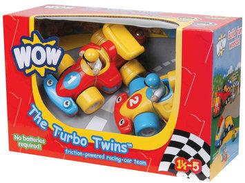 WOW Toys The Turbo Twins Car Racing Set