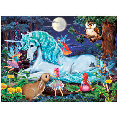 Ravensburger Enchanted Forest Puzzle (100 pc)