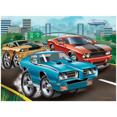 Ravensburger Muscle Cars (60 pc) - 1 ct.