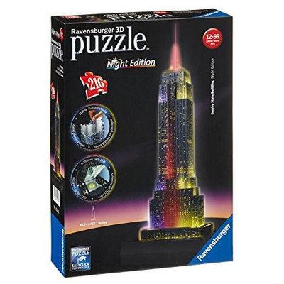 Ravensburger Empire State Building - Night 3D Puzzle 216 pcs