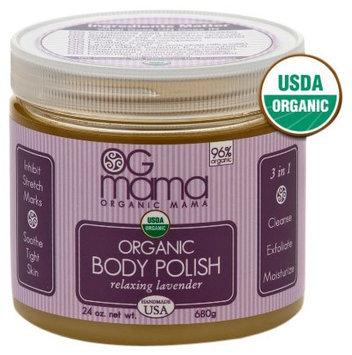 OGmama Relaxing Lavender Organic Body Polish - 24oz
