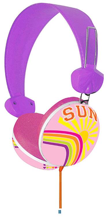 Pink Cookie Overhead Stereo Headphones