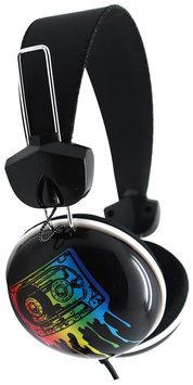 Pink Cookie Overhead Stereo Headphones - Robot