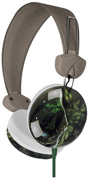 Marvel Avengers the Hulk Earcup Stereo Headphones w/3.5mm Jack