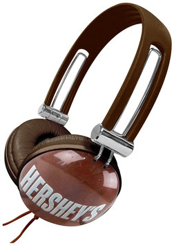 Candeez Stereo Headphone - Hershey's Milk Chocolate