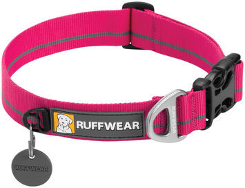 Ruffwear Hoopie Dog Collar Wild Berry, L