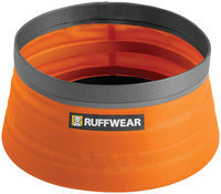 Ruffwear Bivy Bowl Collapsible Dog Bowl, Orange