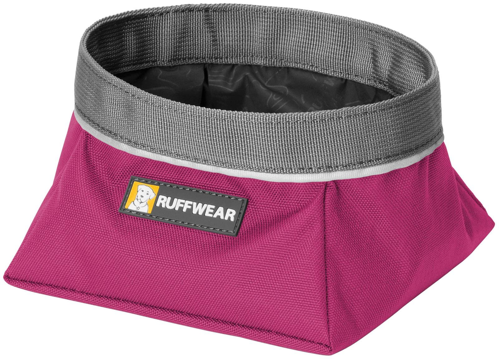 Ruff Wear Inc Ruff Wear Quencher Dog Bowl Original Purple Dusk Medium (SS)