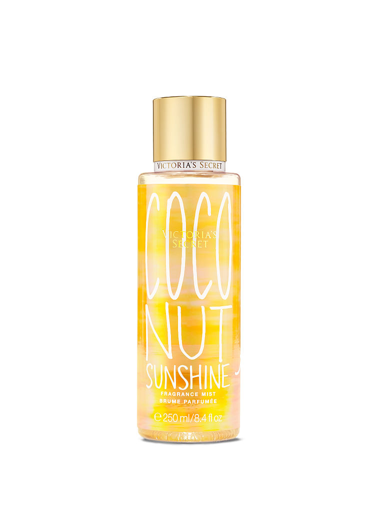 Victoria's Secret Summer Vacation Coconut Sunshine On The Island Fragrance Mist