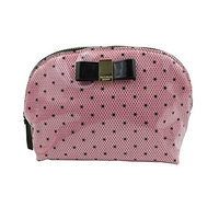 Victoria's Secret Black Dots Cosmetic Bag