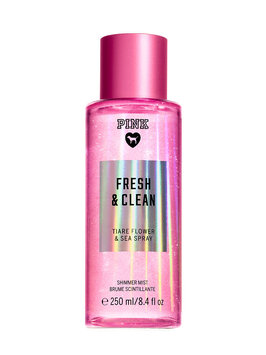 Victoria's Secret Pink Fresh And Clean Shimmer Mist