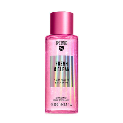 Victoria's Secret Pink Fresh And Clean Shimmer Mist