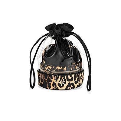 Victoria's Secret Leopard Cosmetics Bag Trio