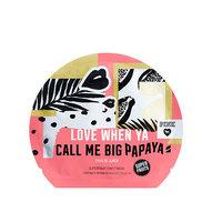 Victoria's Secret Pink Love When Ya Call Me Big Papaya Superfruit Sheet Mask