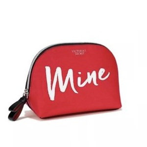 Victoria's Secret Mine Red Beauty Travel Pouch