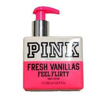 Victoria's Secret Pink Fresh Vanillas Feel Flirty Body Lotion