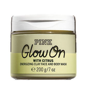 Victoria's Secret Pink Glow On With Citrus Clay Face And Body Mask