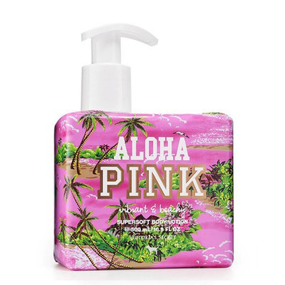 Victoria's Secret Pink Vibrant And Beachy Supersoft Body Lotion