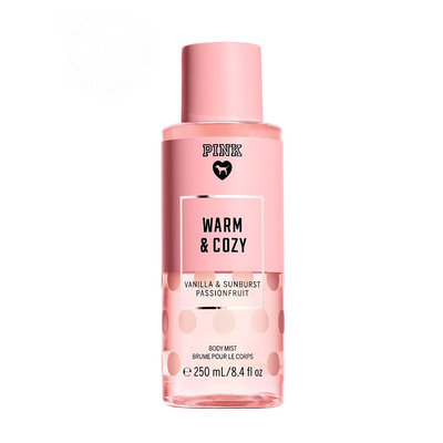 Victoria's Secret Pink Warm And Cozy Body Mist