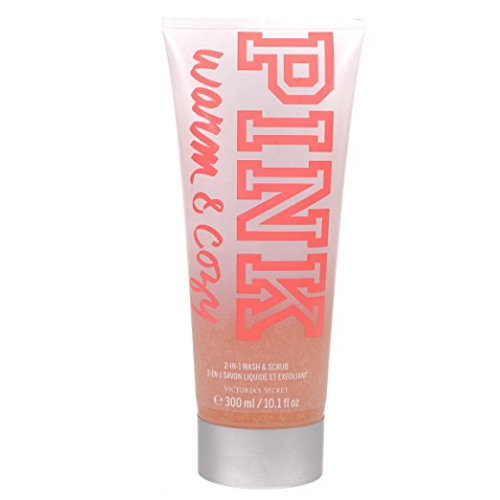 Victoria's Secret Pink Warm And Cozy 2-In-1 Wash And Scrub