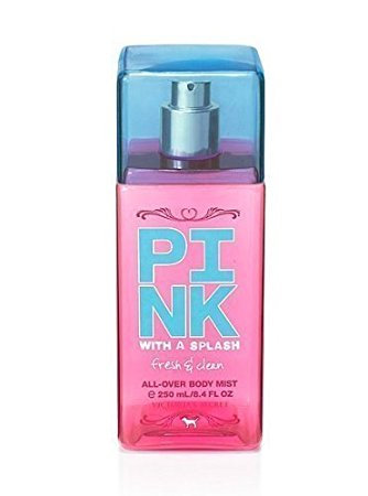 78b81e04f7a9d Victoria's Secret Pink With A Splash Fresh And Clean All Over Body Mist  Reviews 2019
