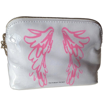 Victoria's Secret Pink Angel Wings Travel Case Cosmetic Bag
