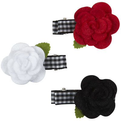 Lily & Momo Flower Trio Hair Clip - 1 ct.