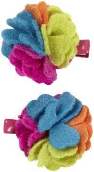 Lily & Momo Alyssa Flower Hair Clip - Rainbow - 1 ct.