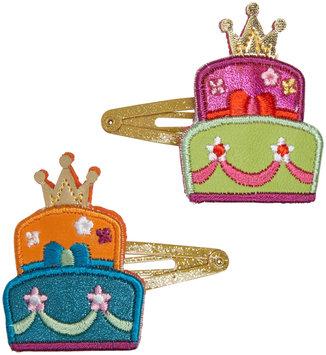 Lily & Momo Princess Cake Hair Clip - Multicolor - 1 ct.