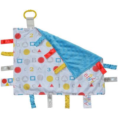 Baby Jack & Company Baby Jack and Company Sensory Tag Blanket Lovey