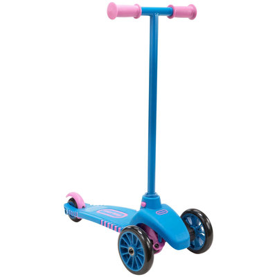 Little Tikes(r) Lean To Turn Scooter- Blue/ Pink