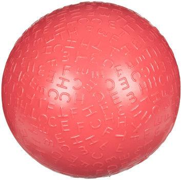 Waggo Jumbled Squeaker Fetch Ball - Fuchsia