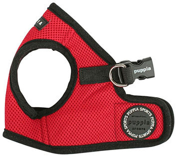 Puppia Soft Vest Dog Harness - Red