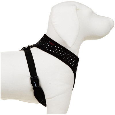 Puppia Dotty Harness A - Black