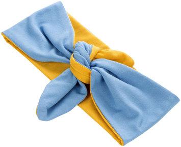 Peppercorn Kids Two-Tone Stretch Bow Headband-Yellow/ Blue - 1 ct.