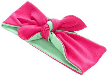 Peppercorn Kids Two-Tone Stretch Bow Headband-Pink/Green - 1 ct.