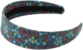 Peppercorn Kids Floral Hard Headband-Teal - 1 ct.