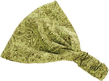 Peppercorn Kids Exotic Paisley Headband - Citrus Green