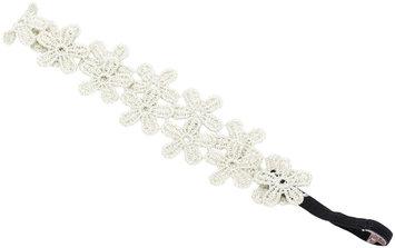 Peppercorn Kids Flower Lace Headband - Champagne Gold - 1 ct.