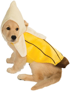 Rubies Costume Halloween Classics Collection Pet Costume, X-Large, Banana